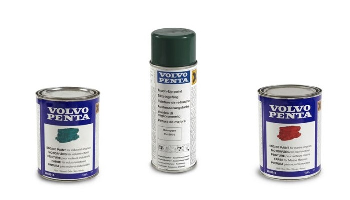 Volvo Penta Genuine Paints by Mail Order from FYB Marine
